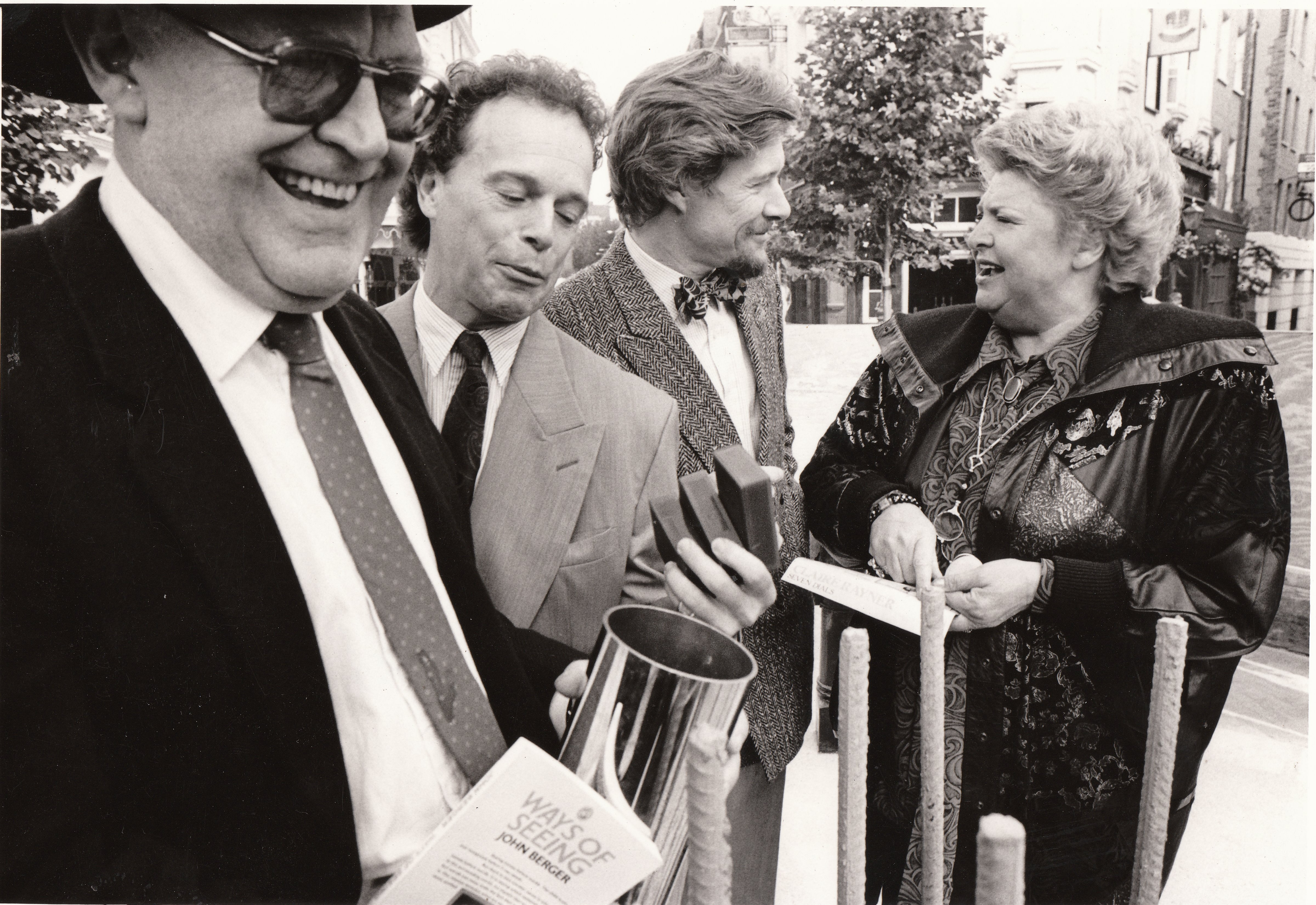 Joss Ackland, Anthony Dowell Paul Jones and Claire Rayner.