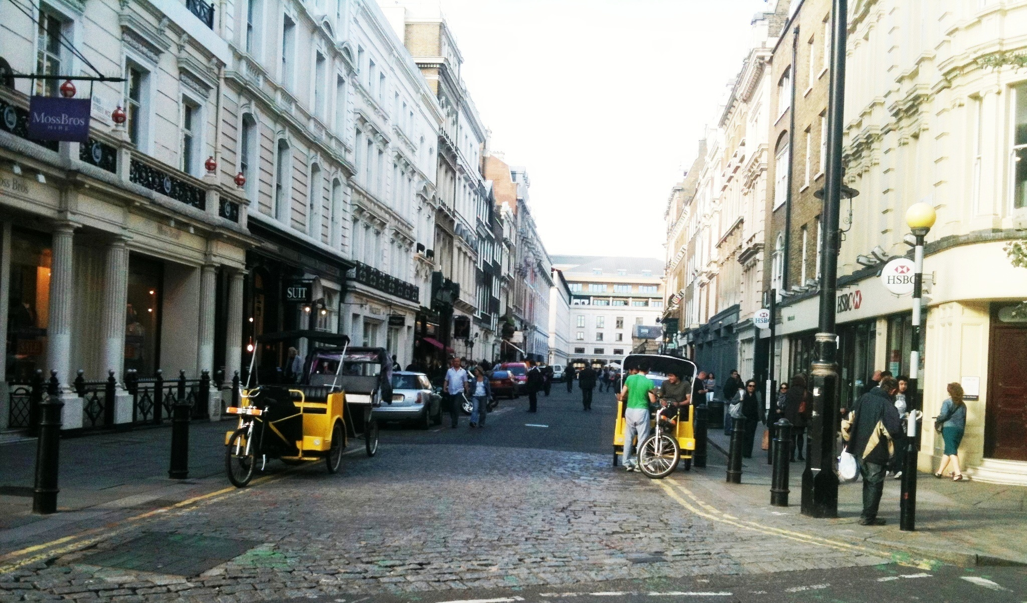 King Street, Covent Garden, 2011, before works.