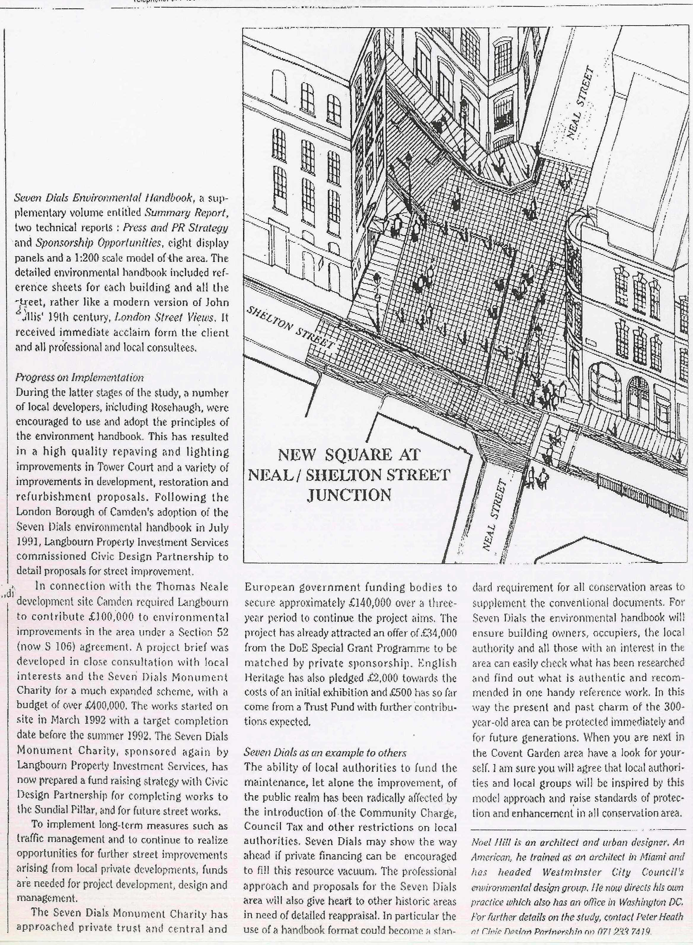 27 May 1992 – Urban Design: Pointing the way for urban design.