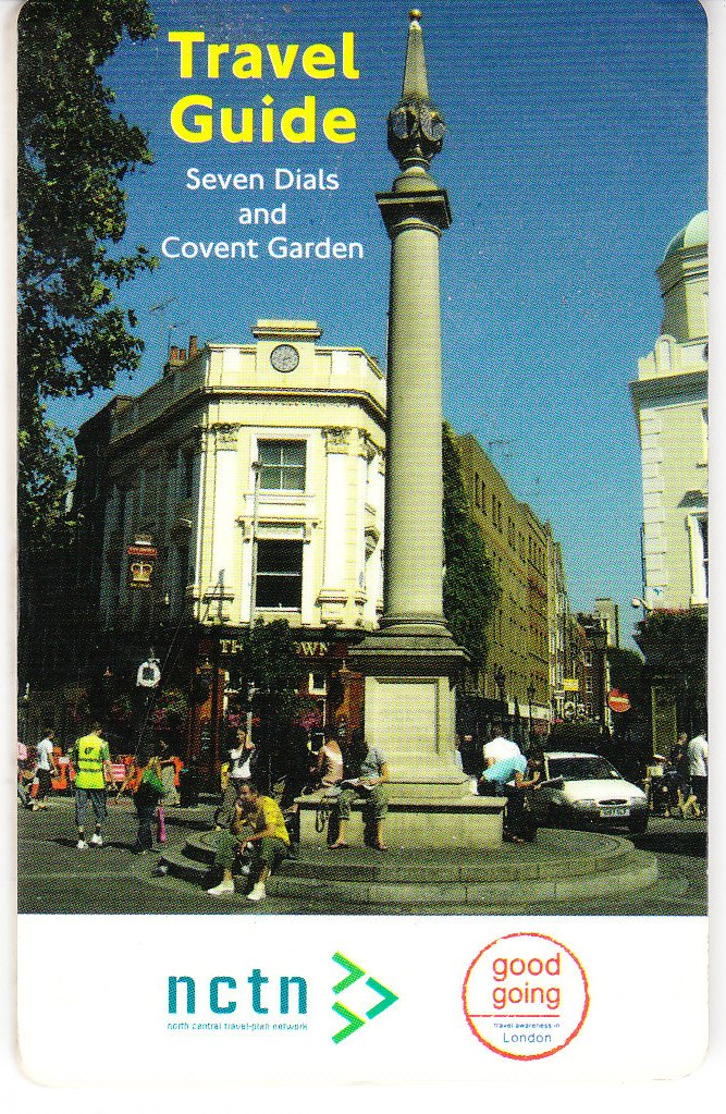 July 2005 – Travel Guide, North Central Travel Plan Network: Car free day in Seven Dials.