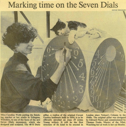 1989—Caroline Webb marking time